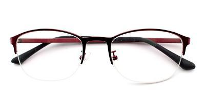 Fatoumata Eyeglasses Red
