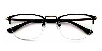 Paolo Eyeglasses Black Gold