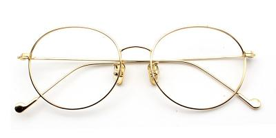 Louanne Eyeglasses Gold