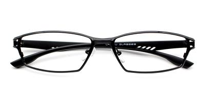 Johan Eyeglasses Black