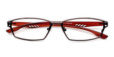 Johan Eyeglasses Brown