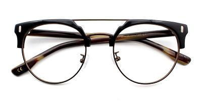 Evan Eyeglasses Black Brown
