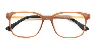 Miles Kids Rx Glasses Brown