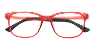 Miles Kids Rx Glasses Red