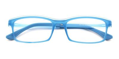 Julian Kids Eyeglasses Blue