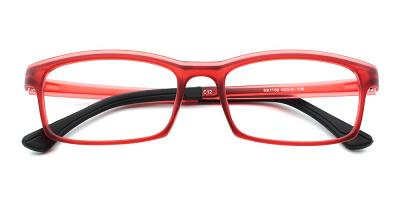 Julian Kids Eyeglasses Red