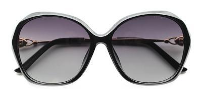 Abigail Rx Sunglasses Black