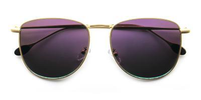 James Rx Sunglasses Gold