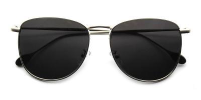 James Rx Sunglasses Silver