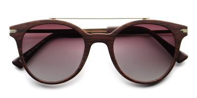 Alexandra Rx Sunglasses Brown