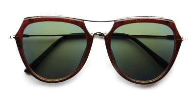 Mia Rx Sunglasses Brown