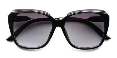 Layla Rx Sunglasses Black