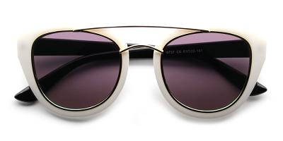 Zoe Rx Sunglasses White