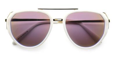 Ava Rx Sunglasses White