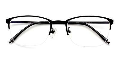 Logan Eyeglasses Black