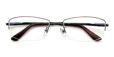 Aiden Eyeglasses Silver